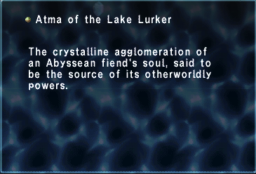 Atma of the Lake Lurker