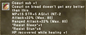 Coeurl sub +1