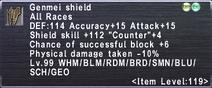Genmei Shield