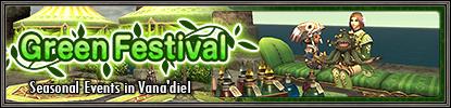 Green Festival Banner