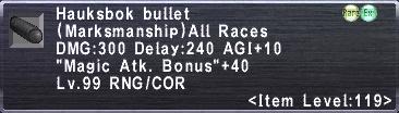 Hauksbok Bullet