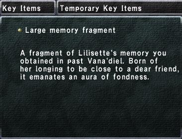 Large memory fragment (IV)
