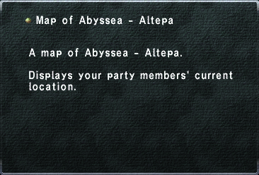 Map of Abyssea - Altepa