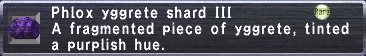 Phlox Yggrete Shard III