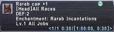 Rarab Cap +1