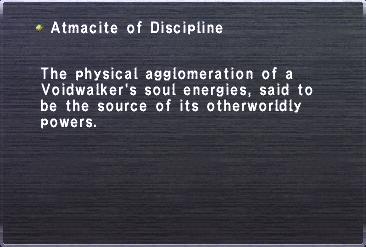 Atmacite of Discipline