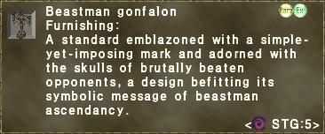 Beastman gonfalon