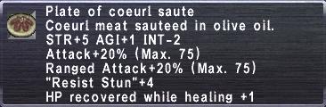 Coeurl Sautee