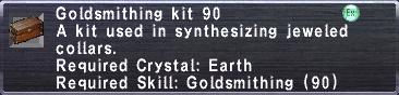 Goldsmithing Kit 90