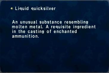 Liquid quicksilver