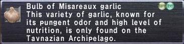 Misareaux garlic