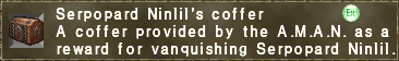 Serpopard Ninlil's coffer