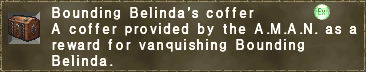 Bounding Belinda's coffer