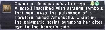 Cipher-Amchuchu