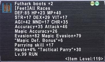 Futhark boots +2