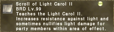 Scroll of Light Carol II