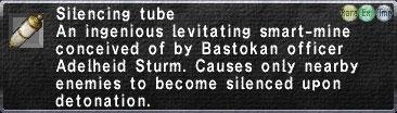 Silencing Tube