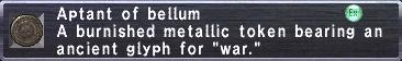 Aptant Bellum