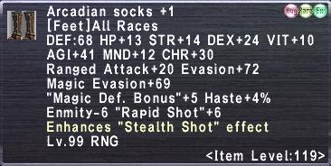 Arcadian Socks Plus 1