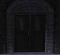 Inconspicuous Door