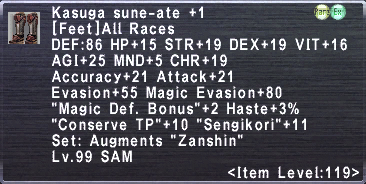 Kasuga Sune-Ate +1