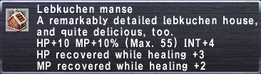 Lebkuchen Manse