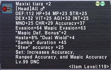 Maxixi Tiara +2 ♂