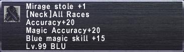 Mirage Stole +1