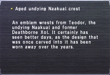 Aged undying naakual