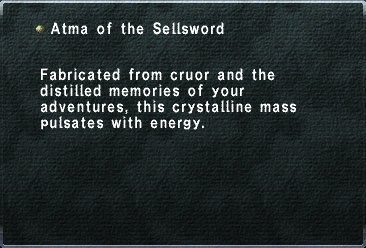 Atma of the Sellsword