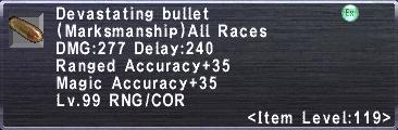 Devastating Bullet