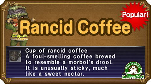 Green Festival Rancid Coffee