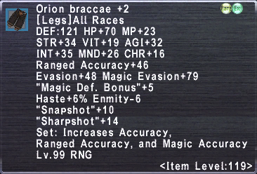 Orion Braccae +2