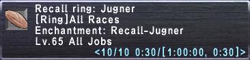 Recall ring jugner