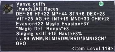 Vanya Cuffs