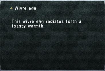 Wivre Egg