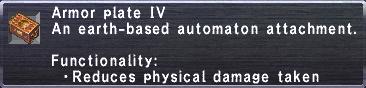 Armor Plate IV