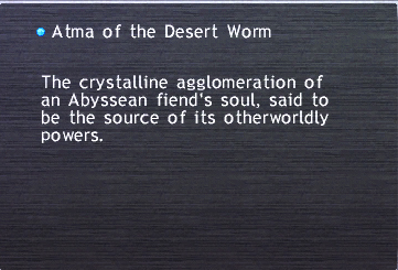 Atma of the Desert Worm