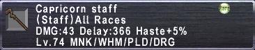 Capricorn Staff