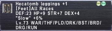 Hecatomb Leggings +1