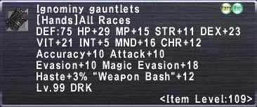 Ignominy Gauntlets