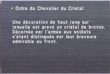Ordre du Chevalier du Cristal