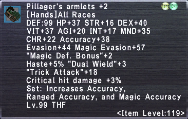 Pillager's Armlets +2