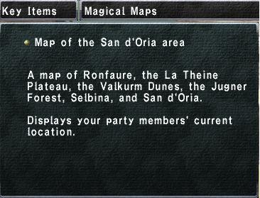 San d'Oria area