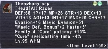 Theophany cap