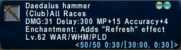 Daedalushammer