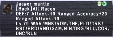 Jaeger Mantle