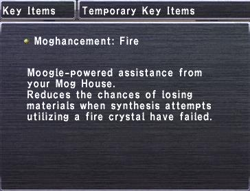 Moghancement Fire
