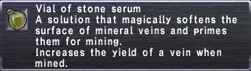 Stone serum