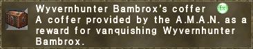 Wyvernhunter Bambrox's coffer